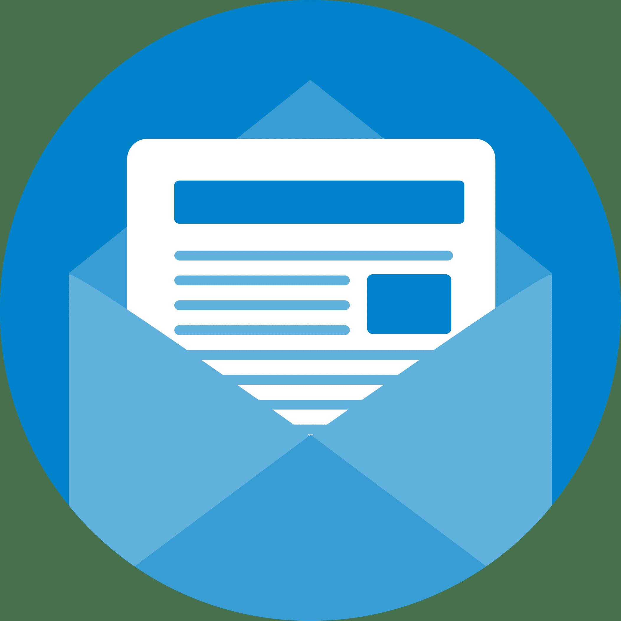 e-mailmarketing blauwe monsters